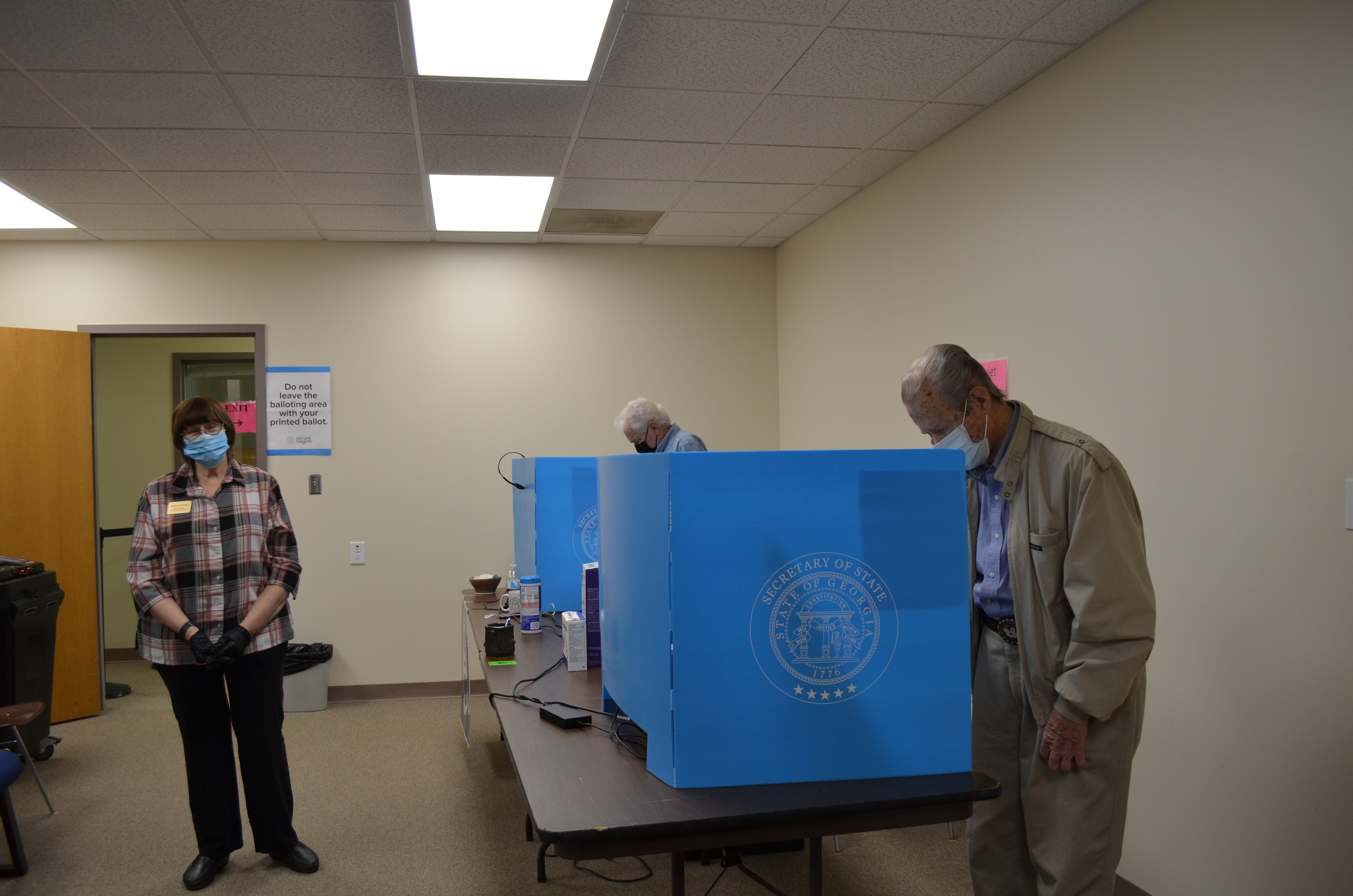 White County voters have already been busy with greater participation than usual in absentee balloting, as well as taking part in early in-person voting, which continues through this Friday, June 5. (File photo/Stephanie HIll)