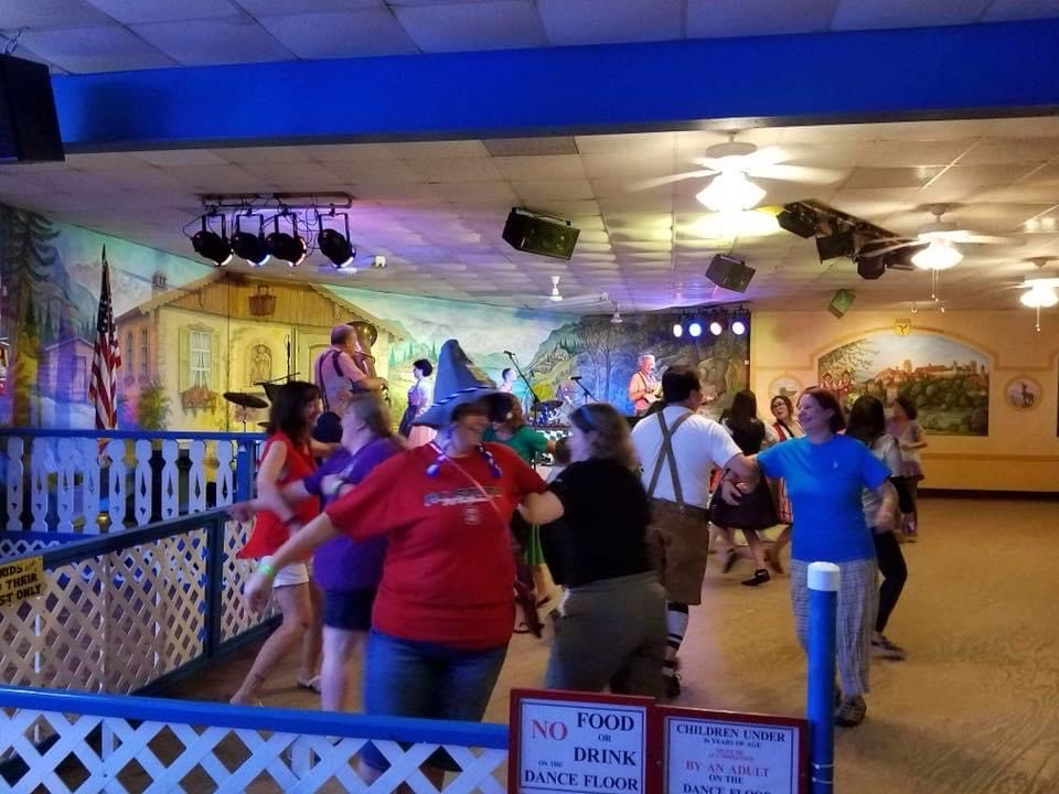 The Greater Helen Area Chamber of Commerce's annual Oktoberfest celebration has entertained crowds with festive music and dance for years at the Helen Festhalle. (File photo)