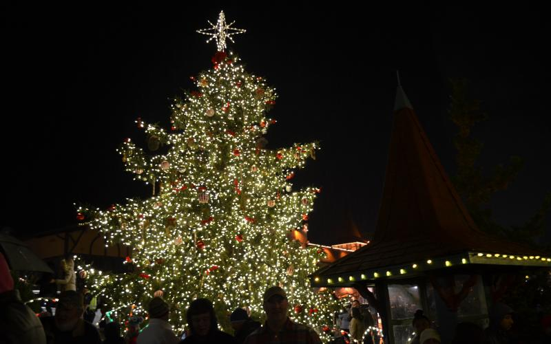 The Lighting of the Village will take place at 6 p.m. on Friday, Nov. 29, in downtown Helen. (File photo)