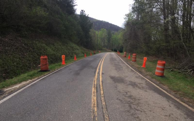 White County officials are posting notices and barricading the area of Chambers Road at the Yonah Mountain Trailhead in anticipation of people, both from and outside the county, using the United States Forest Service trail.