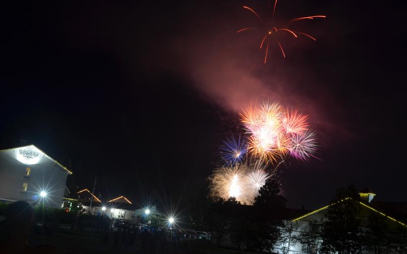 Helen officials canceled the city's Independence Day fireworks showcase last year over concerns about the COVID-19 pandemic. (File photo/Wayne Hardy)