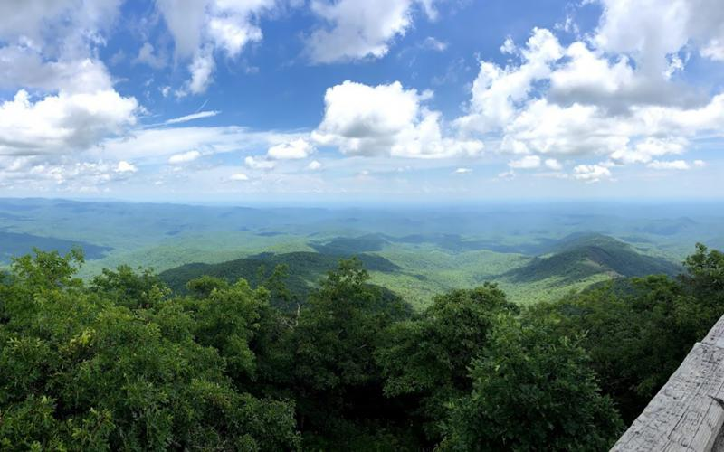 Wayne Knuckles/ The views from Rabun Bald are said to stretch for more than 100 miles when conditions are favorable.