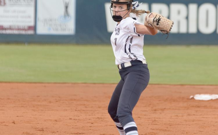 The Lady Warriors return a wealth of experience, including sophomore pitcher Reagan Dunagan. (Photo/Mark Turner)