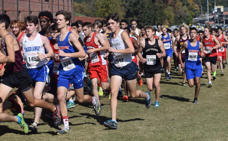 Eamonn O'Bryant is the Warriors' top returning runner after finishing 28th in the Class AAAA meet last winter in Carrollton. (Photo/Mark Turner)