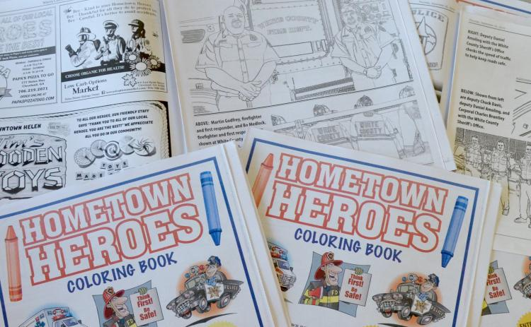 Don't forget to enter our Hometown Heroes coloring book contes! Coloring book's can be picked up at the White County News office and dropped off at various locations throughout the county.