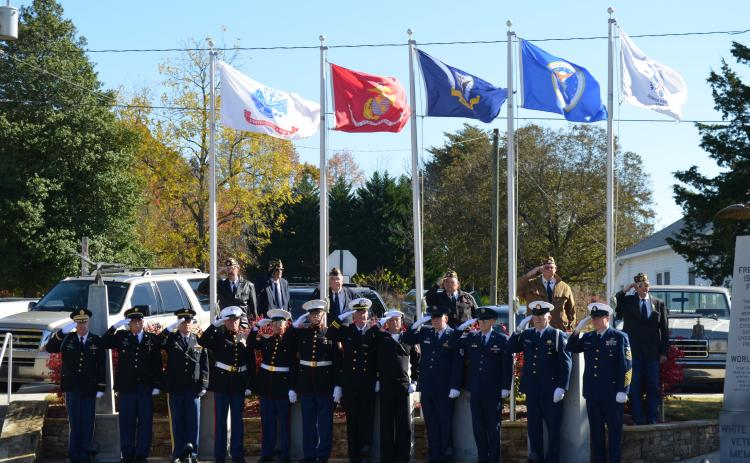 The American Legion will hold their Veterans Day Ceremony on Monday, Nov. 11, at 11 a.m. at Freedom Park. (File photo)