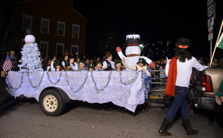 The annual Christmas in the Mountains Festival and Lighted Parade event will be held on Saturday, Dec. 7. The parade will begin at 7 p.m. (File photo)