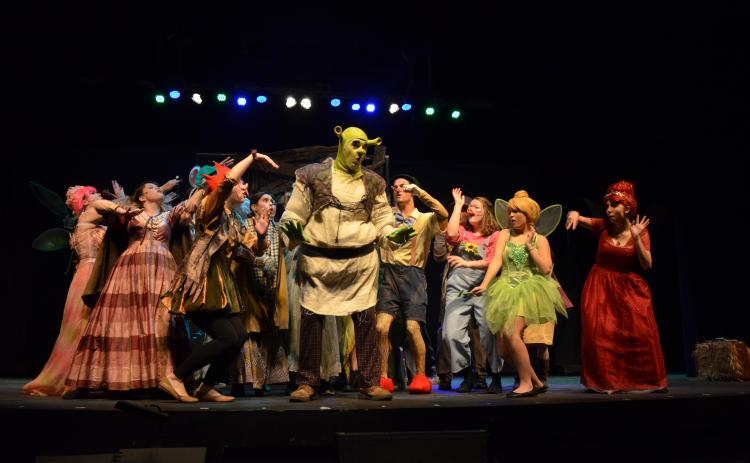 Shrek: the Musical presented by Gateway Theatre Company begins tonight. (Photo/Stephanie Hill)