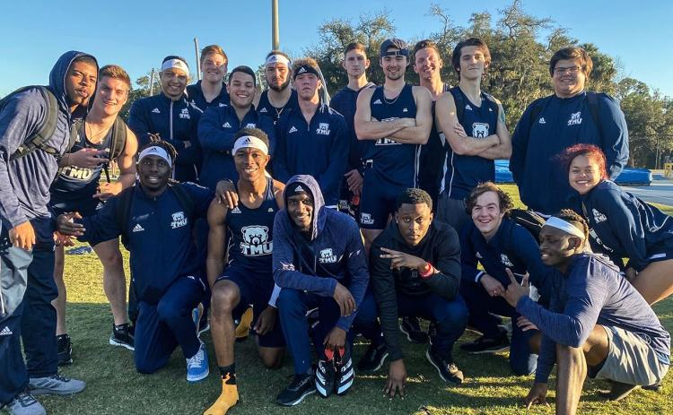 The TMU track team opened the season with a trip to Florida last weekend for the Embry-Riddle Challenge. (Photos/TMU Athletics)