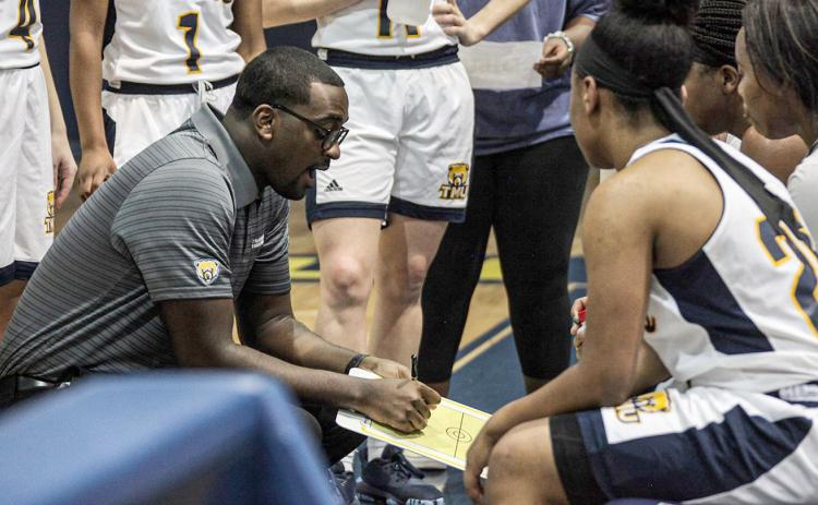 TMU women's basketball coach Tiek Fields has the Lady Bears back in the AAC tournament for the first time since 2016-17 season. (Photo/TMU Athletics)