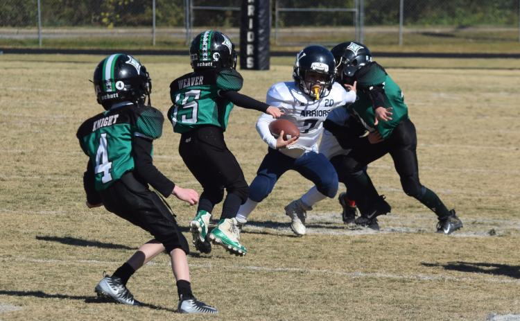 The WCRD youth football teams will compete in Mountain Football League again this fall. The season is currently set to begin in late August. (Photo/WCN Archives)