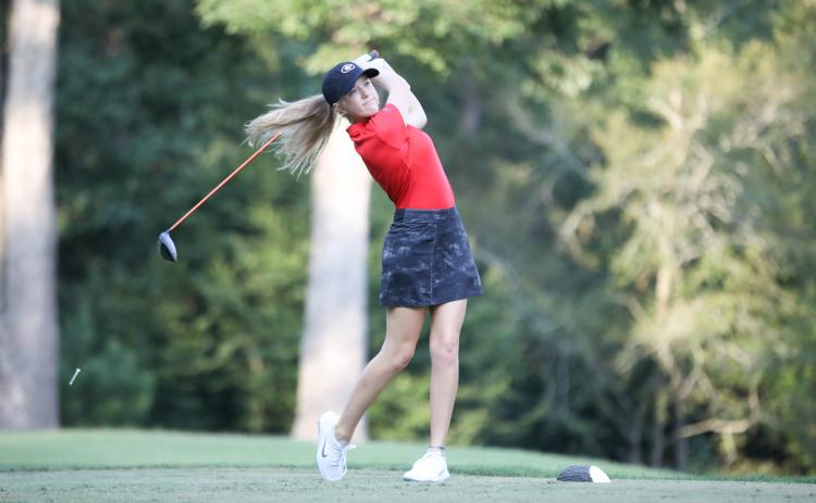 Caroline Craig won a state title during her prep career at White County High School.  (Photo/ UGA Sports Communications
