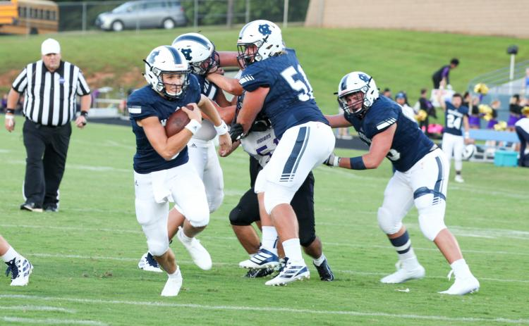 The GHSA is still planning to allow high school football teams to officially start practice July 27, while the rest of the fall sports will begin in August. (Photo/Staci Sulhoff)