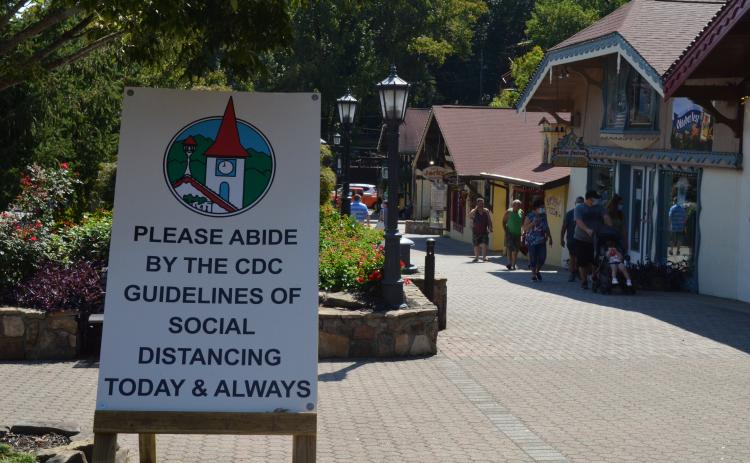 The open-air Oktoberfest in Helen this year will bring visitors and include COVID-19 precautions during the celebration. (Photo/Stephanie Hill)