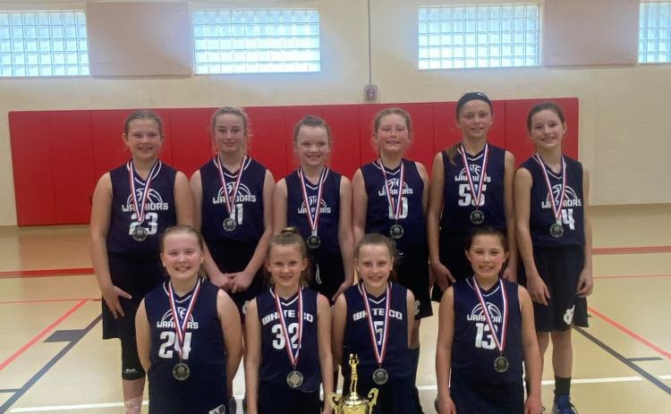 The 10U girl's team finished second last week at the District 7 tournament, earning a bid to the Class C State Tournament this weekend in Clayton. (Photo/WCRD)